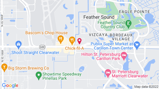 La Quinta Inn & Suites by Wyndham St. Pete-Clearwater Airpt Map