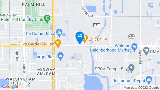 Home2 Suites by Hilton Largo Map
