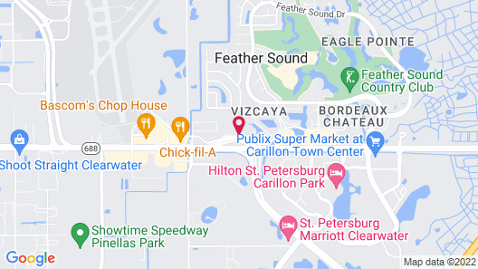 Extended Stay America Suites St Petersburg Clearwater ExecDr Map