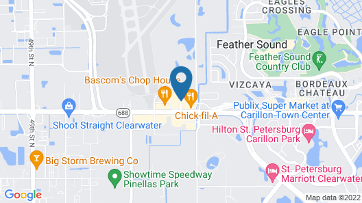 SpringHill Suites by Marriott St. Petersburg Clearwater Map