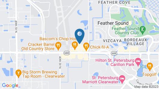 Holiday Inn St Petersburg N - Clearwater, an IHG Hotel Map