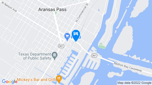 Microtel Inn & Suites by Wyndham Aransas Pass/Corpus Christi Map