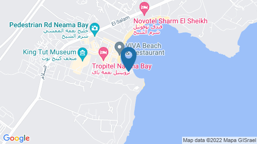 Lido Sharm Hotel Naama Bay Map