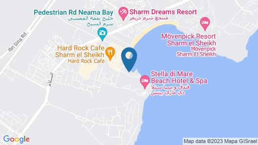 Marina Sharm Hotel Map