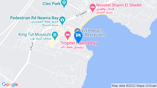 Marina Sharm Hotel Map