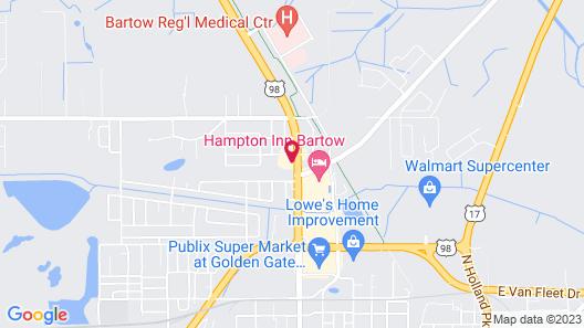 Holiday Inn Express Bartow, an IHG Hotel Map
