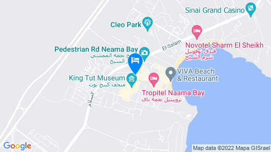 Naama Blue hotel Map