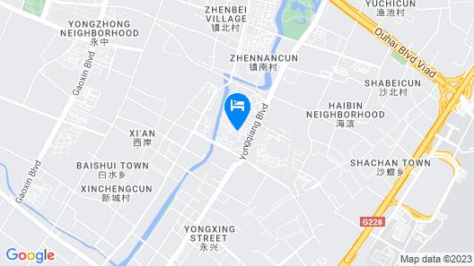 Binhai Grand Hotel Map