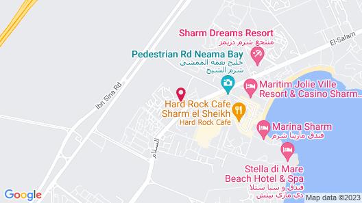 Criss Haya Apartments Map
