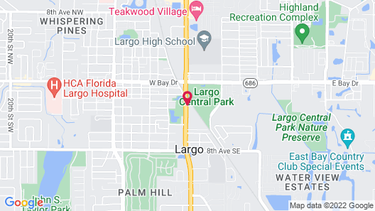 Holiday Inn Express Hotel & Suites Largo-Clearwater, an IHG Hotel Map