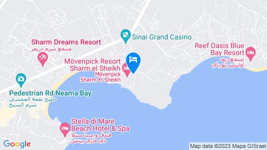 Movenpick Resort Sharm El Sheik Naama Bay Map