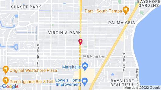 Hotel South Tampa & Suites Map