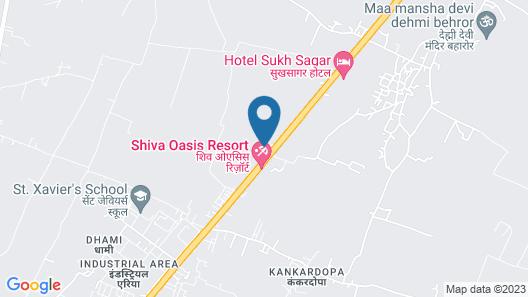 Hotel Highway King Behror Neemrana Map