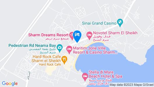 Fayrouz Resort Map