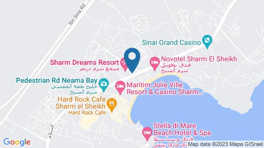Sharm Dreams Resort Map