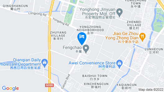 Atour Hotel Olympic Sports Center Wenzhou Map