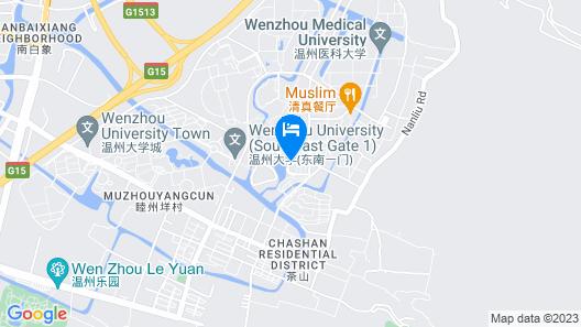 Sotel Inn Cultura Hotel Wenzhou University Branch Map
