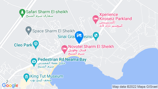 Oriental Rivoli Hotel & SPA Map