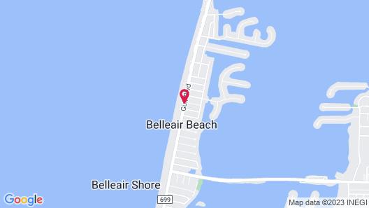 Belleair Beach Resort Motel Map