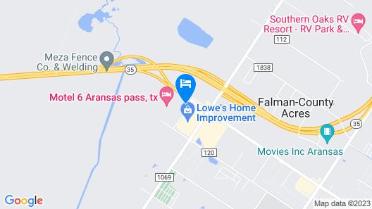 Fairfield Inn & Suites Corpus Christi Aransas Pass Map