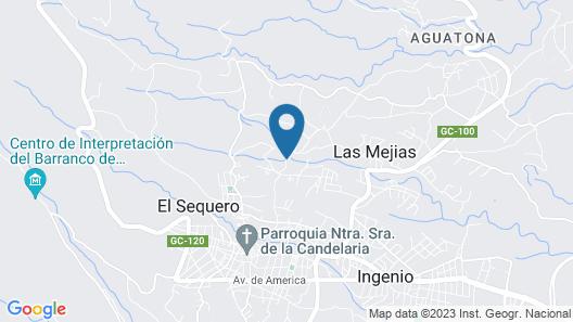 Villa Ingenio paraje natural Parralito Map