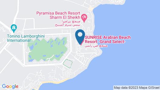 SUNRISE Arabian Beach Resort - Grand Select Map