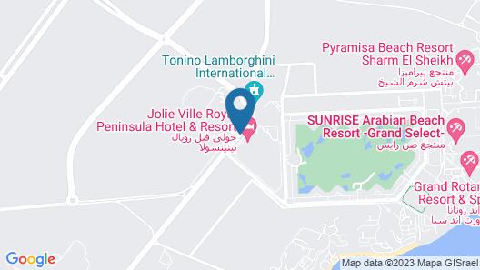 Jolie Ville Royal Peninsula Hotel & Resort Sharm El Sheikh Map