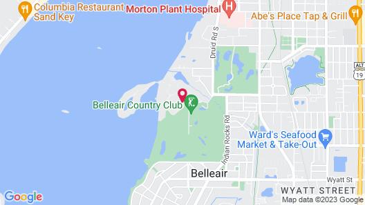 Belleview Inn Map