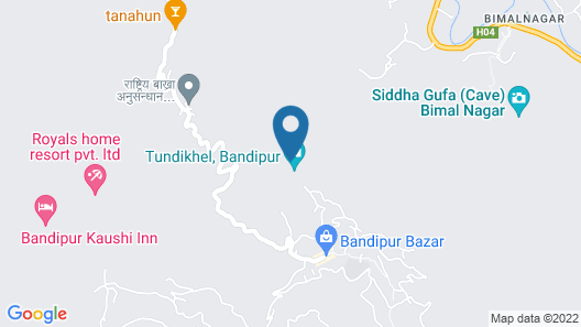 Bandipur Mountain Resort Map