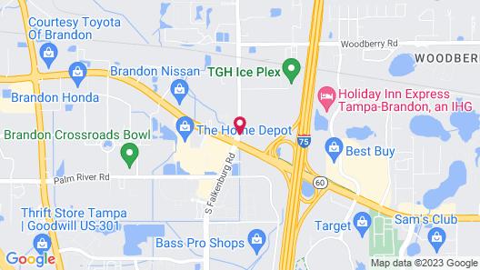 La Quinta Inn & Suites by Wyndham Tampa Brandon West Map