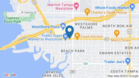 The Westshore Grand, A Tribute Portfolio Hotel, Tampa Map