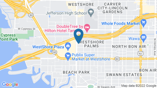 Embassy Suites by Hilton Tampa Airport Westshore Map