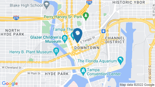 Le Meridien Tampa Map