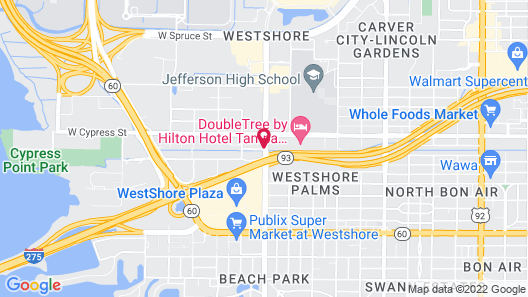 Holiday Inn Tampa Westshore - Airport Area Map