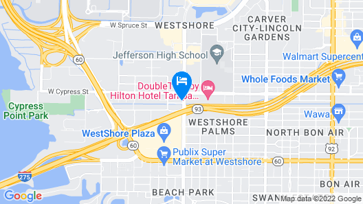 Holiday Inn Tampa Westshore - Airport Area, an IHG Hotel Map