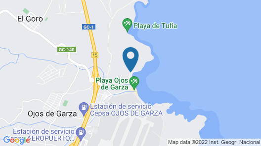 House With 2 Bedrooms in Telde, With Wonderful sea View, Furnished Terrace and Wifi - 10 m From the Beach Map
