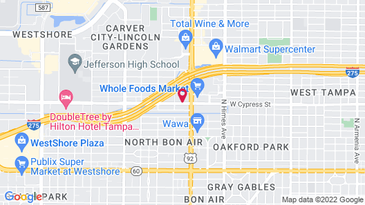 Courtyard by Marriott Tampa Westshore/Airport Map