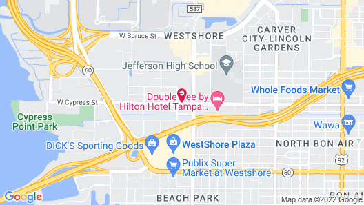 SpringHill Suites by Marriott Tampa Westshore Airport Map