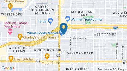 Aloft Tampa Midtown Map