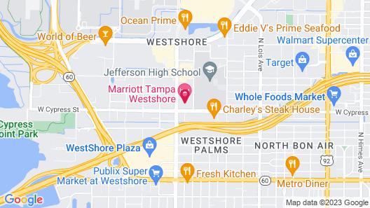 Marriott Tampa Westshore Map