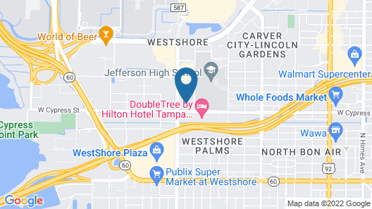 Marriott Tampa Westshore Map