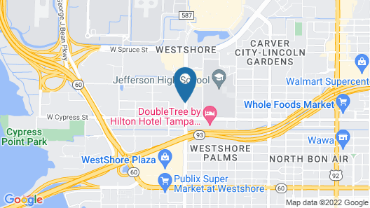 Ramada by Wyndham Tampa Airport Westshore Map
