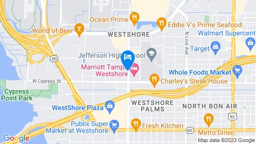 Ramada by Wyndham Tampa Airport Westshore Map
