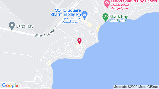 Four Seasons Resort Sharm EL Sheikh Map