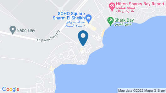 Privately owned Luxury Villa in Four Seasons Resort, Sharm El Sheikh Map