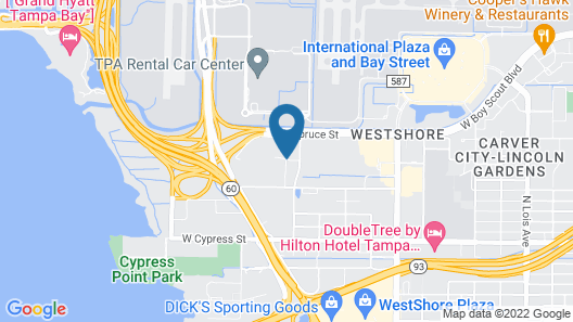TownePlace Suites by Marriott Tampa Westshore/Airport Map