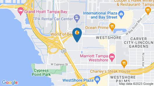 Hilton Garden Inn Tampa Airport Westshore Map