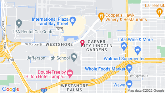 Extended Stay America Suites Tampa Airport Spruce Street Map