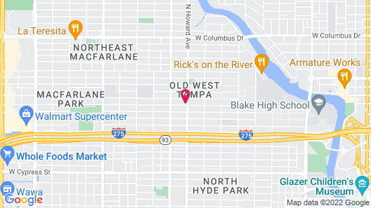 Old West Lofts Down Town Tampa Map