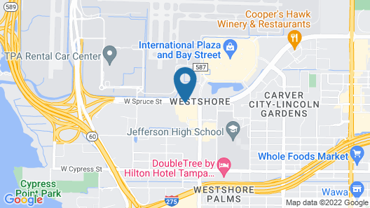 La Quinta Inn by Wyndham Tampa Bay Airport Map